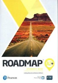 Roadmap A2+ SB + DigitalResources - okładka podręcznika