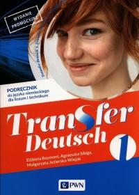 Transfer Deutsch 1 Język niemiecki - okładka podręcznika