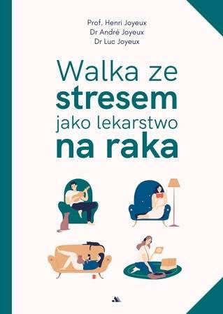 Walka ze stresem jako lekarstwo - okładka książki