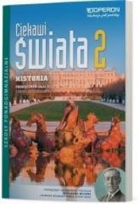 Historia LO 2. Ciekawi świata. - okładka podręcznika