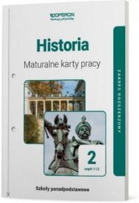 Historia LO 2. Maturalne karty - okładka podręcznika