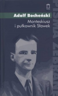 Monteskiusz i pułkownik Sławek - okładka książki