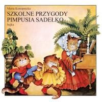 Szkolne przygody Pimpusia Sadełko - pudełko audiobooku