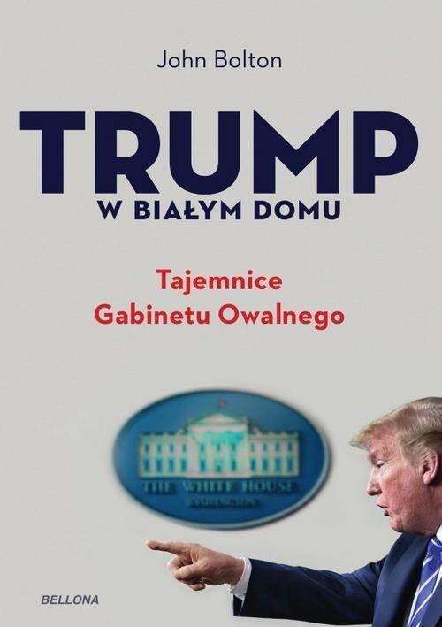 Trump w Białym Domu. Tajemnice - okładka książki