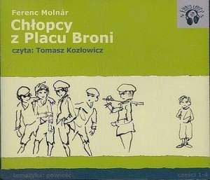 Chłopcy z Placu Broni (CD audio) - pudełko audiobooku