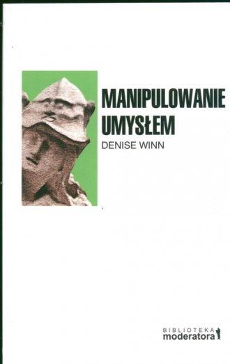Manipulowanie umysłem - okładka książki