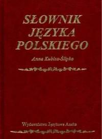 Słownik języka polskiego - okładka książki