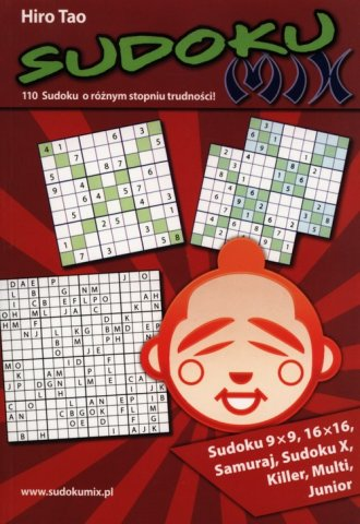 Sudoku mix - okładka książki
