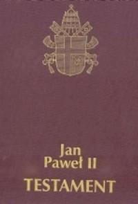 Testament (wydanie ekskluzywne w twardej, płóciennej, złoconej oprawie) - okładka książki