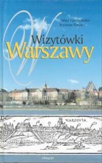 Wizytówki Warszawy - okładka książki