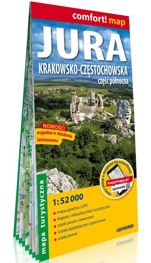 Comfort!map Jura Krakowsko-Częstochowska - okładka książki