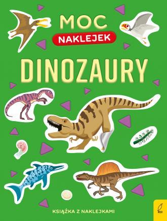 Dinozaury. Moc naklejek - okładka książki