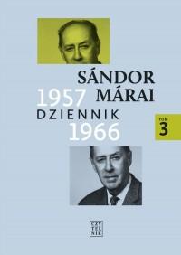Dziennik 1957-1966. Tom 3 - okładka książki