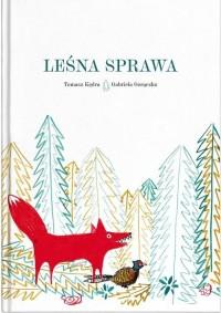 Leśna sprawa - okładka książki