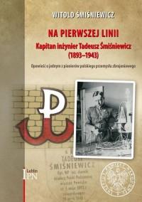 Na pierwszej linii Kapitan Inżynier - okładka książki