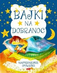 Bajki na dobranoc - okładka książki