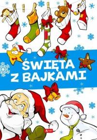 Święta z bajkami - okładka książki