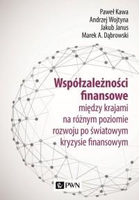 Współzależności finansowe między - okładka książki