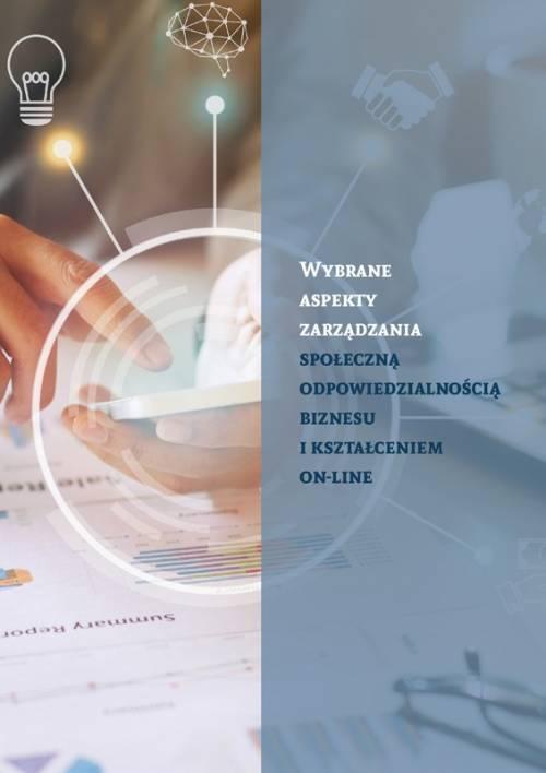 Wybrane aspekty zarządzania społeczną - okładka książki