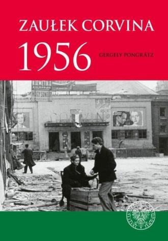 Zaułek Corvina 1956 - okładka książki