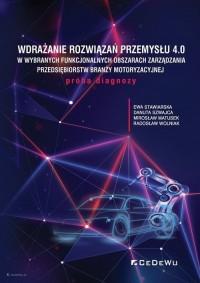 Wdrażanie rozwiązań Przemysłu 4.0 - okładka książki