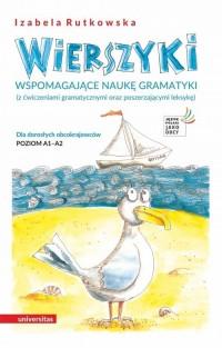 Wierszyki wspomagające naukę gramatyki. - okładka podręcznika