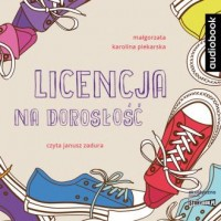 Licencja na dorosłość (CD mp3) - pudełko audiobooku