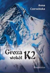 Groza wokół K2 - okładka książki