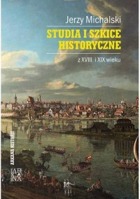 Studia i szkice historyczne z XVIII - okładka książki