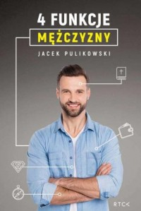 4 funkcje mężczyzny - okładka książki