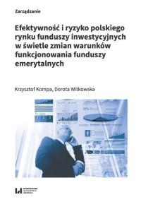 Efektywność i ryzyko polskiego - okładka książki
