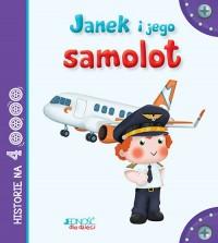 Janek i jego samolot - okładka książki