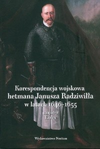 Korespondencja wojskowa hetmana - okładka książki