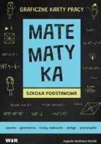 Matematyka. Graficzne karty pracy - okładka podręcznika