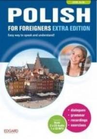 Polish for foreigners Extra Edition. - okładka podręcznika
