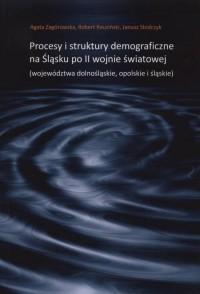 Procesy i struktury demograficzne - okładka książki