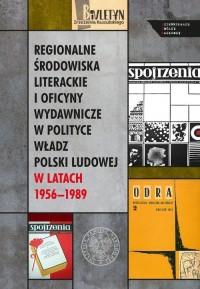 Regionalne środowiska literackie - okładka książki
