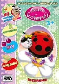 Słodkie kolorki. Biedronki - okładka książki