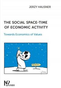 The social space-time of economic - okładka książki