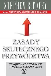 Zasady skutecznego przywództwa - okładka książki