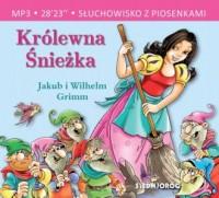 Królewna Śnieżka (CD mp3) - pudełko audiobooku