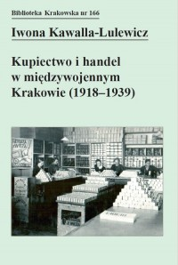 Kupiectwo i handel w międzywojennym - okładka książki