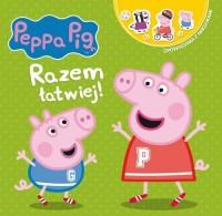 Peppa Pig. Opowiadania z naklejkami. - okładka książki
