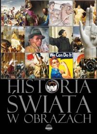 Historia świata w obrazach - okładka książki