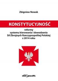 Konstytucyjność reformy systemu - okładka książki