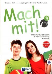 Mach mit! neu 3 Materiały ćwiczeniowe - okładka podręcznika
