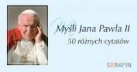 Myśli Jana Pawła II (w obwolucie - okładka książki
