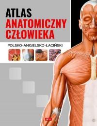 Atlas anatomiczny człowieka - okładka książki