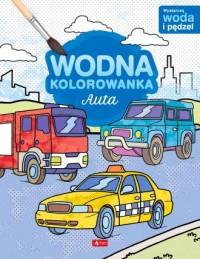 Auta Wodna kolorowanka - okładka książki