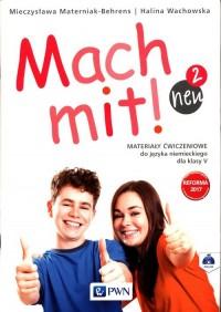 Mach mit! neu 2. Materiały ćwiczeniowe - okładka podręcznika
